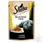 Food Sheba with chicken in jelly for cats 85g
