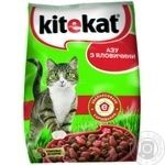 Корм сухой Kitekat для кошек из говядины 400г