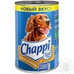 Dog food Chappi with beef and poultry 400g