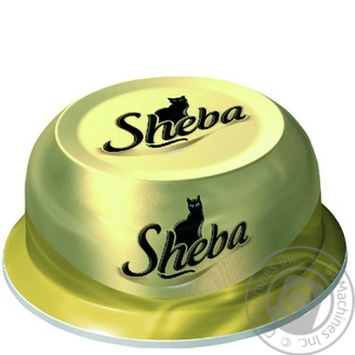 Cat food Sheba chicken saute 80g