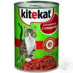 Корм для котів Kitekat Домашній обід з яловичиною 400г