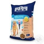 Корм Д/Собак Клуб 4 Лапи с мяс.ягн. и рис. сух кг
