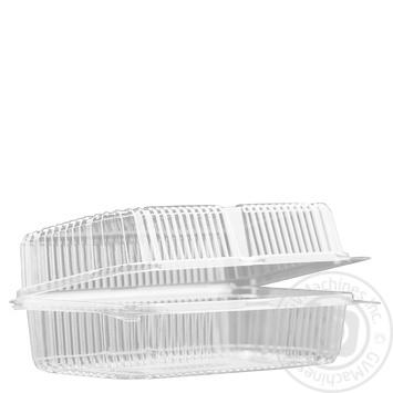 Контейнер пластиковый пищевой без перфорации 130х230х83 25*1