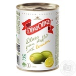 Diva Oliva Green Olives stuffed with lemon 300g
