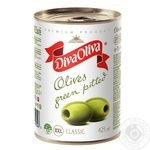 Diva Oliva Large Olives Green Whole 390g