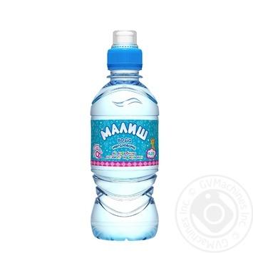 Вода Малыш детская питьевая негазированная с рождения 330мл