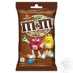 Драже M&M's с молочным шоколадом 90г