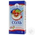 Соль Salute di Mare морская пищевая с уменьшенным содержанием натрия 750г