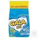 Пральний порошок Gala Морська свіжість автомат 6кг