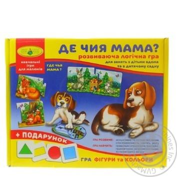 Where's whose mom? Educational logic game