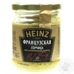 Гірчиця Французька Heinz 180г