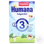 Суміш суха мололчна Humana 3 з яблуком 300г