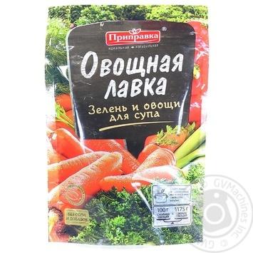 Суміш овочева Приправка зелень і овочі для супу 40г