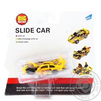 Игрушка Big Motors краш-тест машинка - купить, цены на СитиМаркет - фото 1