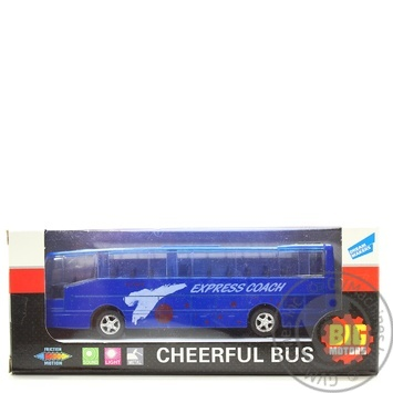 Игрушка Big Motors автобус инерционный