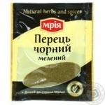 Spices black pepper Mria Mria ground 10g