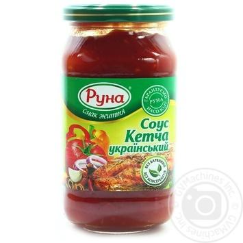 Соус томатный Руна Кетча Украинский 485г