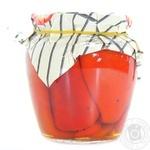Vegetables pepper Family canned 530g glass jar