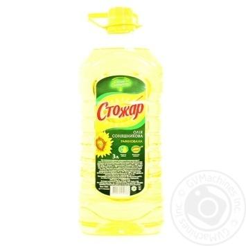 Oil Stozhar sunflower refined 3000ml plastic bottle - buy, prices for Novus - image 1