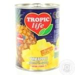 Ананас Tropic life кусочки в сиропе 580мл