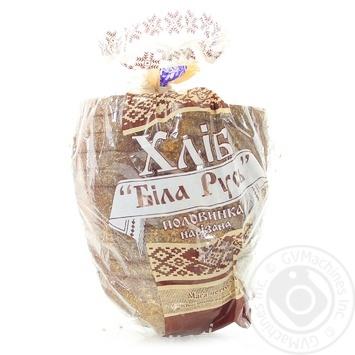 Хлеб Кулиничи Белая Русь нарезанный половинка 350г - купить, цены на Novus - фото 2