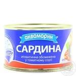 Fish sardines Akvamaryn in tomato sauce 240g
