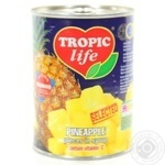 Fruit pineapple Tropic life pieces 580ml