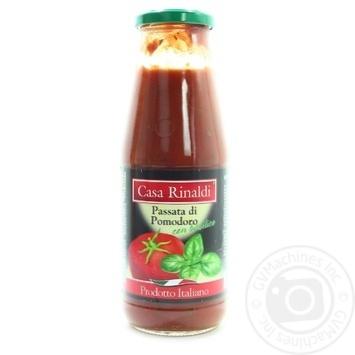 Tomato paste Casa rinaldi tomato with basil 690g