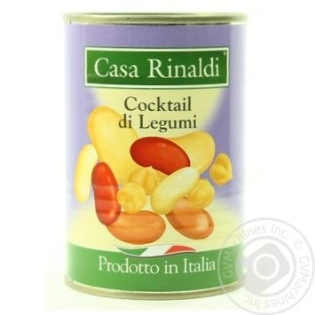 Vegetables beans Casa rinaldi beans canned 400g can