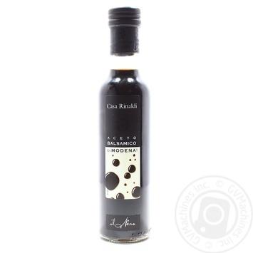 Уксус Casa Rinaldi бальзамический из Модены черная этикетка 6% 250мл