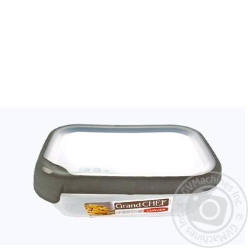 Ємкість Curver Grand Chef для заморожування та мікрохвильовок прямокутна 1,2л - купити, ціни на МегаМаркет - фото 1