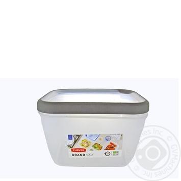 Емкость Curver Grand Chef для замораживания и микроволновых печей прямоугольная 2,4л