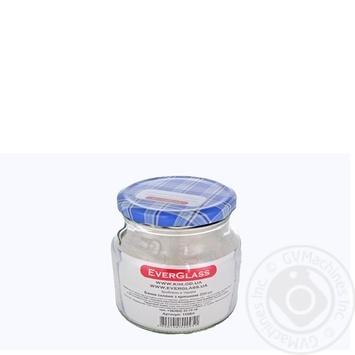 Банка Everglass скляна з металевою кришкою 550мл Україна - купити, ціни на Ашан - фото 2