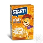 Завтраки сухие зерновые Start кукурузные медовые 90г