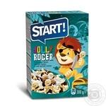 Сухие завтраки Старт Весёлый Роджер зерновые 300г