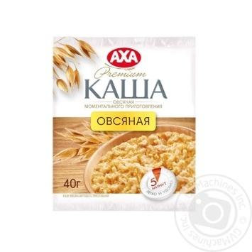 Скидка на Каша овсяная Аха моментального приготовления 40г Украина