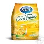 Сухие завтраки Старт хлопья кукурузные натуральные 850г