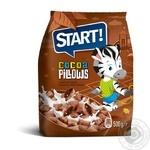 Сухие завтраки зерновые Start Подушечки с какао начинкой 500г