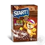 Сухие завтраки зерновые Start Шарики с какао 250г