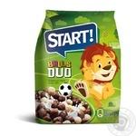 Сухие завтраки зерновые Start Шарики Duo 500г