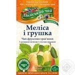 Tea Polissia tea herbal pear 40g