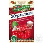Tea Polissia tea fruit cranberry packed 20pcs 40g