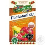 Tea Polissia tea fruit fruit-baccate packed 20pcs 40g