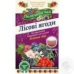 Tea Polissia tea fruit with berries packed 20pcs 40g
