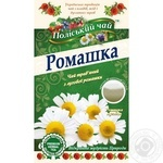 Tea Polissia tea herbal with chamomile 20pcs 30g