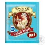 Напиток кофейный Петровская Слобода 3в1 с ароматом сгущеного молока в стиках 18г