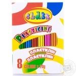 Пластилін Class 8 кольорів 160г