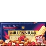 Шоколад Millennium Golden Nut белый с цельными лесными орехами и клюквой 100г - купить, цены на Фуршет - фото 3