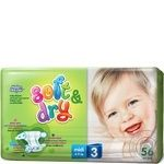 Diaper Helen harper Soft dry for children 4-9kg 56pcs 1680g