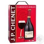 Вино J.P.CHENET Cabernet-Syrah червоне сухе 3л